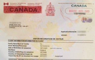 Hướng dẫn nộp đơn xin visitor record gia hạn thời hạn ở lại Canada online