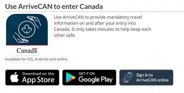 Hướng dẫn tải ArriveCAN khai báo khi nhập cảnh Canada sau ngày 22.02